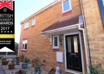 Thumbnail 2 bed semi-detached house for sale in Oakley Avenue, Rayleigh, Essex