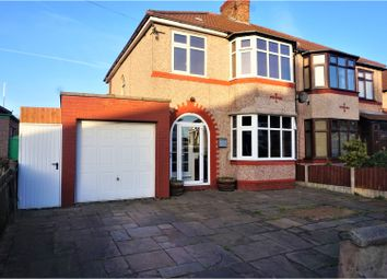 Thumbnail 3 bed semi-detached house for sale in South Mossley Hill Road, Liverpool