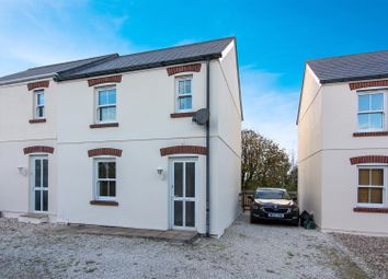 Thumbnail 2 bed semi-detached house for sale in Pit Lane, Higher Fraddon, St. Columb