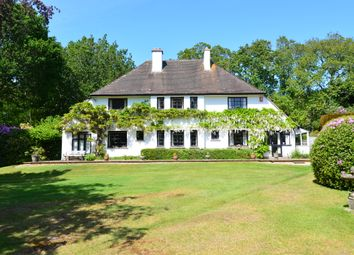Thumbnail 4 bed detached house for sale in Arnewood Bridge Road, Sway, Lymington