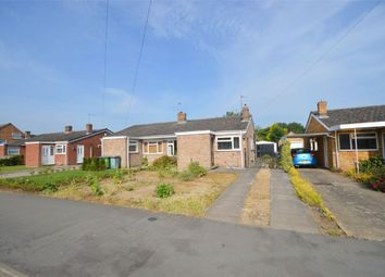 Thumbnail 3 bed semi-detached bungalow for sale in Plantagenet Drive, Woodlands, Rugby, Warwickshire
