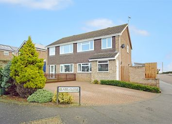 Thumbnail 3 bed semi-detached house for sale in Clare Close, Earls Barton, Northampton