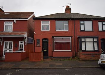 Thumbnail 3 bedroom semi-detached house for sale in Rowsley Street, Evington, Leicester