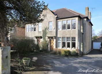 Thumbnail 5 bed semi-detached house for sale in Bradford Road, Combe Down, Bath