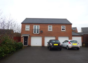 Thumbnail 2 bed flat for sale in Cornfield Close, Ellistown, Coalville