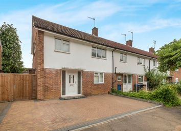 Thumbnail 3 bedroom end terrace house for sale in Thistle Grove, Welwyn Garden City