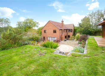 Thumbnail 4 bed detached house for sale in Blandys Hill, Kintbury, Hungerford, Berkshire