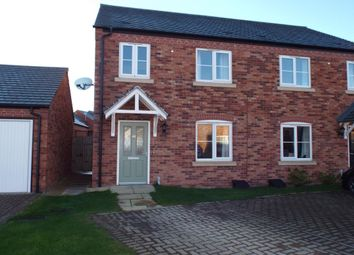 Thumbnail 3 bed semi-detached house for sale in Desjardins Way, Pershore