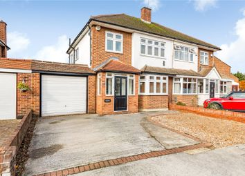 3 bed semi-detached house for sale in Gillian Crescent, Gidea Park, Romford RM2