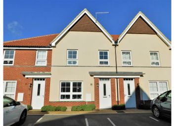 Thumbnail 3 bed terraced house for sale in Puttick Drive, Worthing