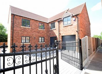 Thumbnail 4 bed detached house for sale in Church Lane, Crowle, Scunthorpe