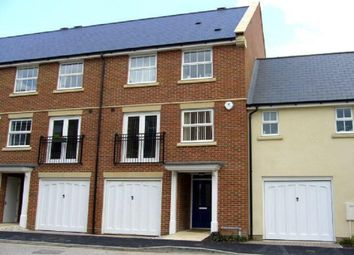 Thumbnail 4 bedroom town house to rent in Reed Court, Ingress Park, Greenhithe