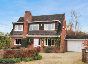 Thumbnail 4 bed property for sale in Woolton Hill, Newbury