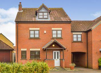 Thumbnail 4 bedroom end terrace house for sale in Ashford Crescent, Grange Farm, Milton Keynes