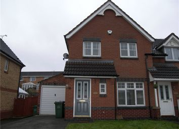 Thumbnail 3 bed end terrace house to rent in Heather Court, Heanor