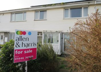 Thumbnail 2 bed terraced house for sale in Marquis Close, Barry
