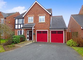Thumbnail 4 bed detached house to rent in Cappelle Rise, Audley, Stoke-On-Trent