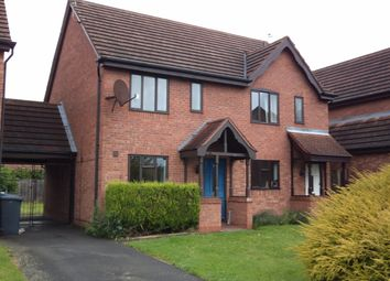 Thumbnail 2 bed semi-detached house to rent in Lindale Close, Gamston, Nottingham