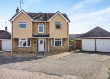 Thumbnail 4 bed detached house for sale in Heron Road, Wisbech