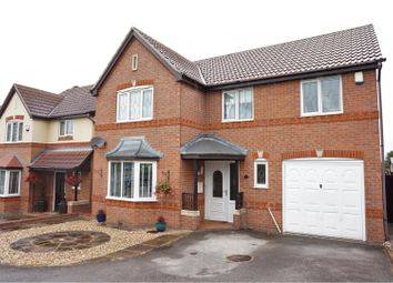 Thumbnail 4 bed detached house for sale in Royal Approach, Chellaston