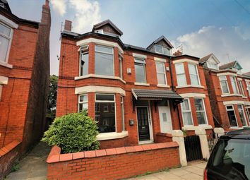 Thumbnail 4 bed semi-detached house for sale in Oxton Road, Wallasey