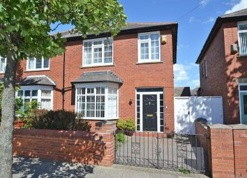 Thumbnail 3 bed semi-detached house for sale in Grasmere Terrace, Hawkeys Lane, North Shields