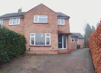 Thumbnail 3 bed semi-detached house to rent in Tritton Fields, Kennington, Ashford, Kent