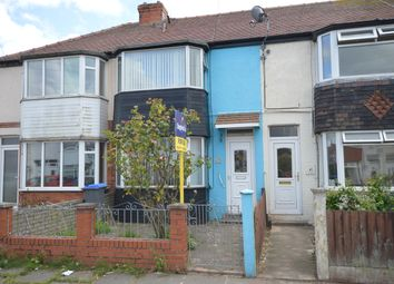 Thumbnail 3 bed terraced house for sale in Southbank Avenue, Blackpool
