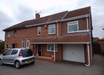 Thumbnail 3 bed semi-detached house to rent in Hudson Avenue, Bedlington