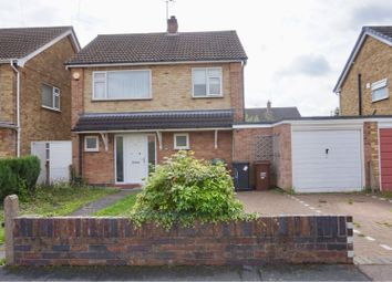 Thumbnail 3 bed detached house for sale in Kirkstone Drive, Loughborough