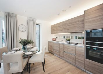 Thumbnail 1 bed flat for sale in Waterfront II, Royal Aresnal Riverside, Woolwich