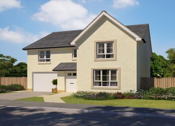 "Thumbnail 4 bed detached house for sale in ""Dunbar"" at Abbey Road, Elderslie, Johnstone"