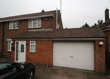 Thumbnail 3 bedroom semi-detached house to rent in Humberstone Road, Leagrave, Luton