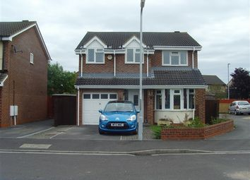 Thumbnail 4 bed detached house to rent in The Copse, Bridgwater