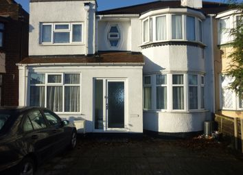 Thumbnail 6 bed semi-detached house to rent in Walsall Road, Perry Barr, Birmingham