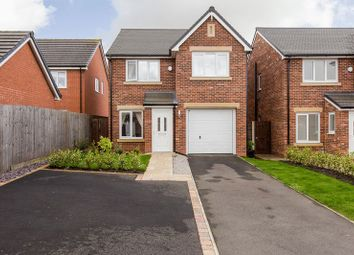 Thumbnail 4 bed detached house for sale in Almond Pastures, Standish, Wigan