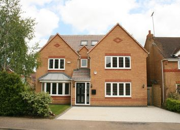 Thumbnail 6 bed detached house for sale in Fieldgate Close, Wootton, Northampton