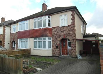 Thumbnail 3 bed semi-detached house to rent in Hatton Road, Bedfont, Feltham