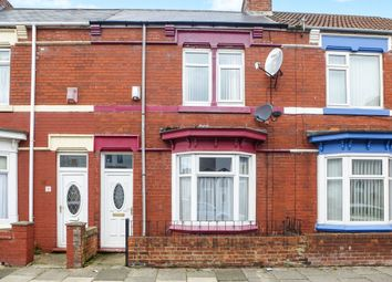 Thumbnail 2 bed terraced house for sale in Thornville Road, Hartlepool