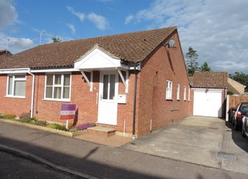 Thumbnail 2 bed semi-detached bungalow for sale in Eckersely Drive, Fakenham
