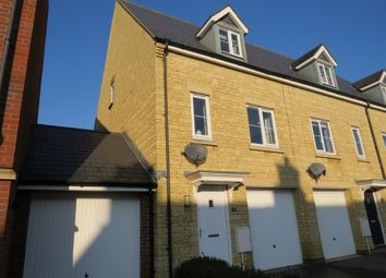 Thumbnail 3 bedroom town house for sale in Hayburn Road, Swindon