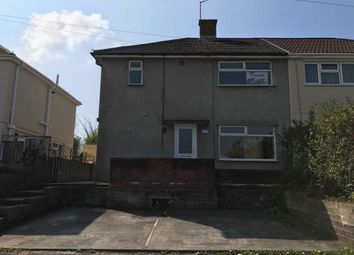 Thumbnail 3 bed semi-detached house to rent in Long Acre, North Cornelly, Bridgend