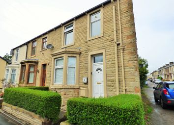 Thumbnail 2 bed flat to rent in Cemetery Road, Padiham, Burnley, Lancashire