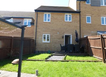 Thumbnail 3 bed terraced house for sale in Fletcher Way, Peterborough