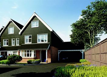 Thumbnail 3 bed detached house for sale in Cambridge Road, Puckeridge, Hertfordshire