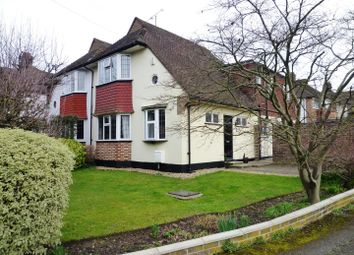 Thumbnail 4 bed semi-detached house for sale in Parkdale Crescent, Worcester Park