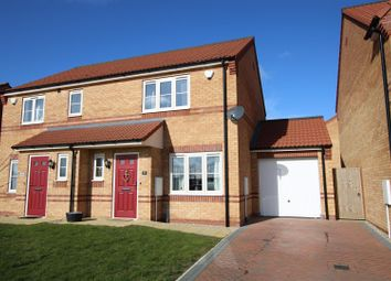 Thumbnail 2 bed semi-detached house for sale in Sanderson Road, Lincoln