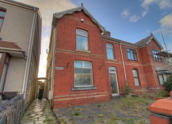 Thumbnail 4 bed semi-detached house for sale in Wern Road, Skewen, Neath