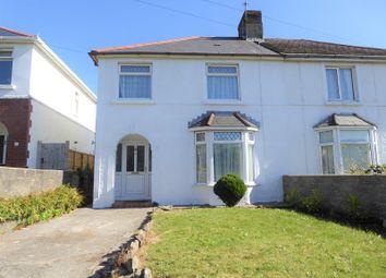 Thumbnail 3 bed semi-detached house for sale in Litchard Cross, Litchard, Bridgend.