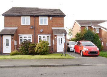 Thumbnail 2 bed semi-detached house for sale in Cherrytree Drive, Bedlington